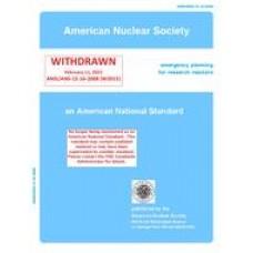 ANS 15.16-2008 (W2015)