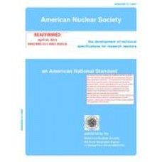 ANS 15.1-2007 (R2018)