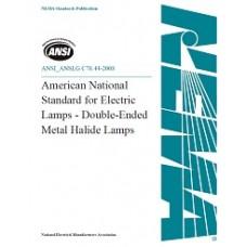 ANSI/ANSLG C78.44-2008