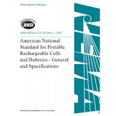 ANSI C18.2M Part 1 - 2007