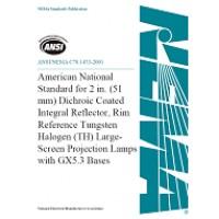 ANSI C78.1433-2001 (S2018)