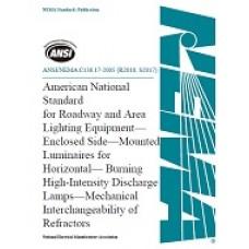 ANSI C136.17-2005 (R2010, S2017)