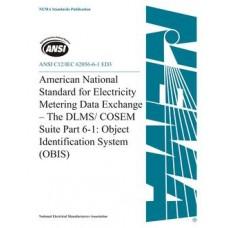 ANSI C12/IEC 62056-6-1 ED3