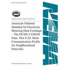 ANSI C12/IEC 62056-8-20 ED1.0