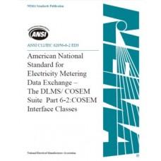 ANSI C12/IEC 62056-6-2 ED3