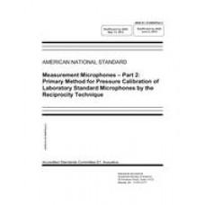 ASA S1.15-2005/Part 2 (R2020)