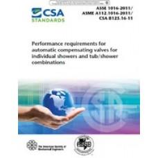 ASME A112.1016-2011/ASSE 1016-2011/CSA B125.16-11