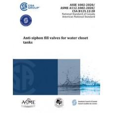 ASME A112-1002/ASSE 1002/CSA B125.12-2020