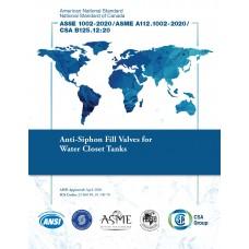 ASSE (Plumbing) 1002-2020/ASME A112.1002-2020/CSA B125.12:20
