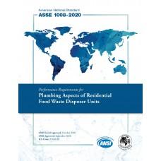 ASSE (Plumbing) 1008-2020