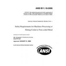 B11 B11.18-2006 (R2012)