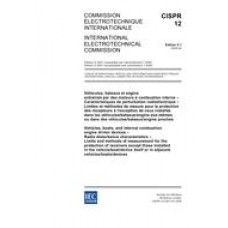 CISPR 12 Ed. 5.1 b:2005