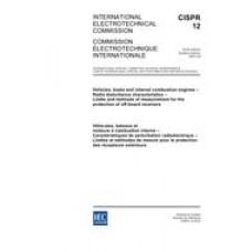 CISPR 12 Ed. 6.0 b:2007