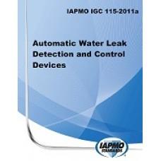 IAPMO IGC 115-2011A