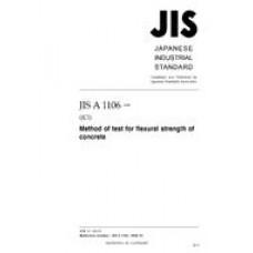 JIS A 1106:2006